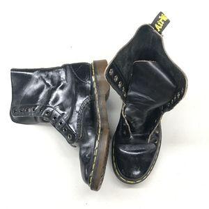 Vintage Black High Top Dr. Martens No Laces, Size